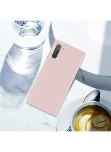 MobilCadde Eiroo Lansman Samsung Galaxy Note 10 Açık Yeşil Silikon Kılıf Yeşil